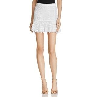 BB Dakota Womens Mini Skirt Lace Casual