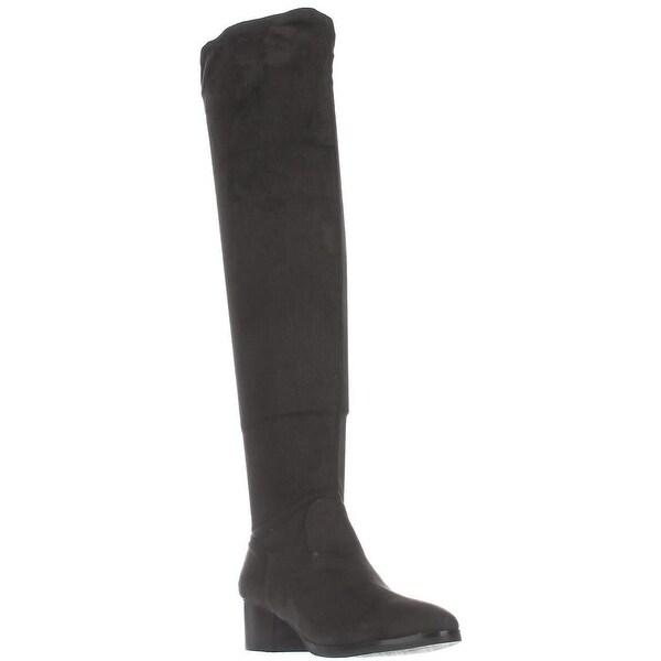 Tahari Corbin Over The Knee Boots, Charcoal