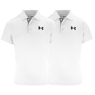 Under Armour Boys' Match Play Polo 2-Pack