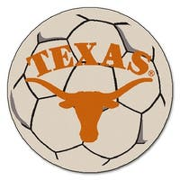 University of Texas Longhorns Soccer Ball Rug