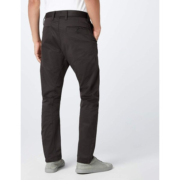 Shop G Star Raw Men's Bronson Tapered Chino, Raven, 33x34