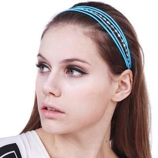 Mad Style Blue Neon Headband