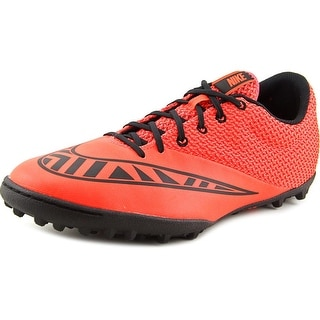 Nike Mercurialx Pro Tf Men Round Toe Synthetic Orange Running Shoe