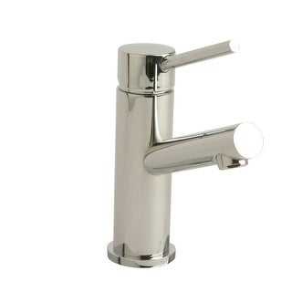 Giagni LL102 Single Hole Bathroom Faucet - Includes Metal Pop-Up Drain Assembly