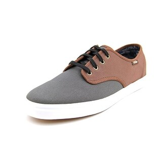 Vans Madero Round Toe Leather Sneakers