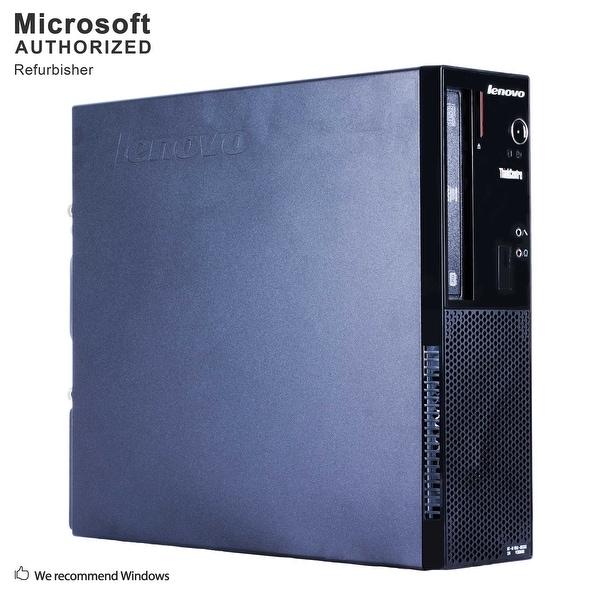 Lenovo E73 SFF, Intel i5-4590 3.3GHz, 12GB DDR3, 3TB HDD, DVD, WIFI, BT 4.0, HDMI, W10P64 (EN/ES)-Refurbished