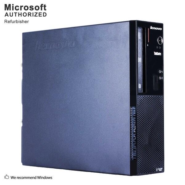 Lenovo E73 SFF, Intel i5-4590 3.3GHz, 8GB DDR3, 3TB HDD, DVD, WIFI, BT 4.0, HDMI, W10P64 (EN/ES)-Refurbished