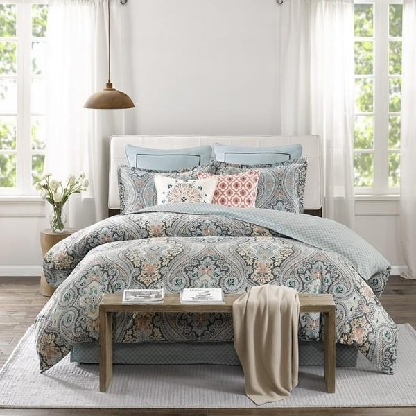 Echo Design Sterling Sa Printed Comforter Set Deep Green Free Shipping Today 26077245