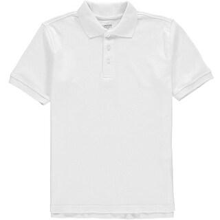 French Toast Boys 4-7 Short Sleeve Interlock Polo