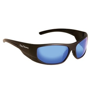 Fly Fish Cape Horn Sunglasses Mt Black/Smk Blue Mirror