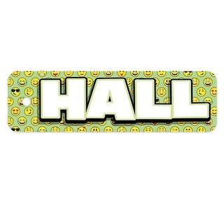 Plastic Hall Pass Emoji Hall Pass