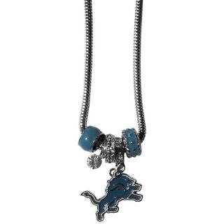 Detroit Lions Necklace Euro Bead Style