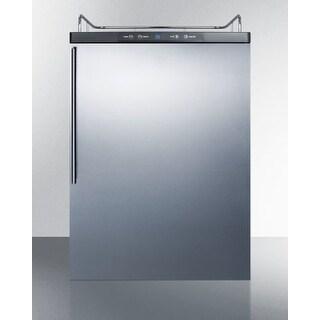 Summit SBC635MBINKHV 24 Inch Wide 5.6 Cu. Ft. Kegerator Conversion Refrigerator
