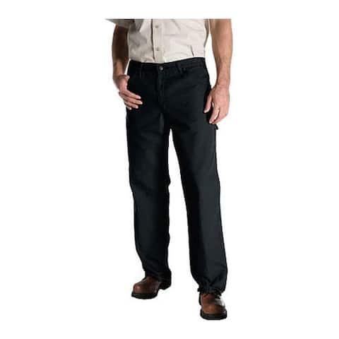 "Dickies Men's Relaxed Fit Duck Jean 32"" Inseam Slate"