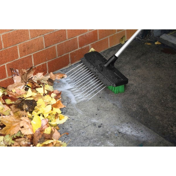 Big Boss Power Washer Broom Jet - Black