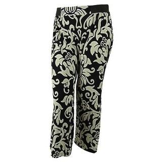 INC International Concepts Women's Elastic Waistband Pants