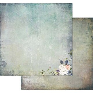 "Tattered Beauty - Tattered Garden Double-Sided Cardstock 12""X12"" (20/Pack)"