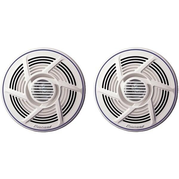 "Pioneer Ts-Mr1600 Nautica(R) Series 6.5"" Dual-Cone Marine Speakers"