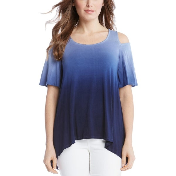 8b7c12a101e Shop Karen Kane Womens Tunic Top Tie-Dye Ombre - Free Shipping On Orders  Over $45 - Overstock - 22581242