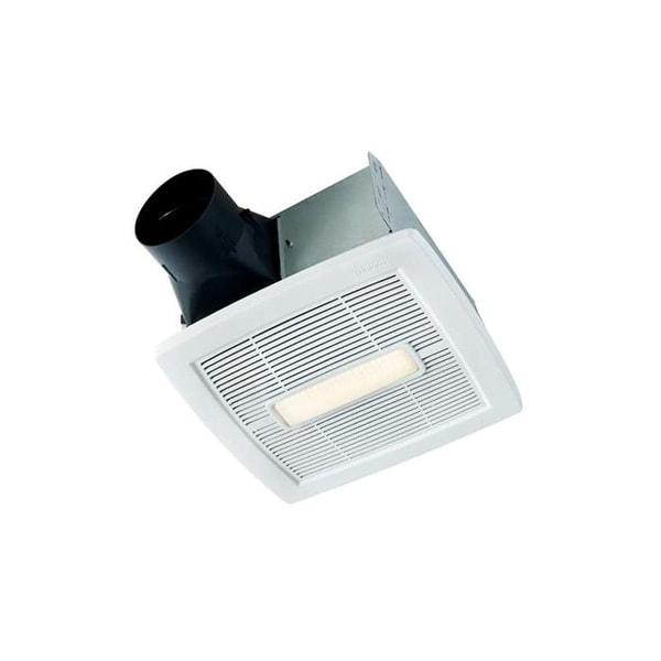 NuTone AEN80BL InVent Series 80 CFM 1.5 Sone Ceiling Mounted HVI Certified Bath Fan - White