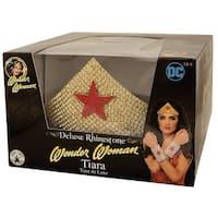 DC Comics Wonder Woman Tiara Costume Accessory - Gold