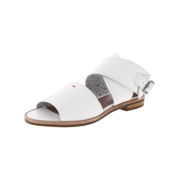 ED Ellen DeGeneres Womens Sanja Flat Sandals Open Toe Casual