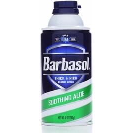 Barbasol Beard Buster Shaving Cream Soothing Aloe 10 oz