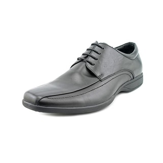 Kenneth Cole Reaction Best O The Bunch Men Round Toe Leather Black Oxford