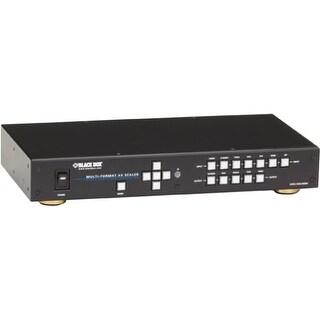 """Black Box AVSC-7DA-HDMI Black Box Multi-Format AV Scaler with DisplayPort - Functions: Video Scaling - 2560 x 1600 - NTSC, PAL,"