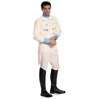 Mens Prince Charming Deluxe Halloween Costume