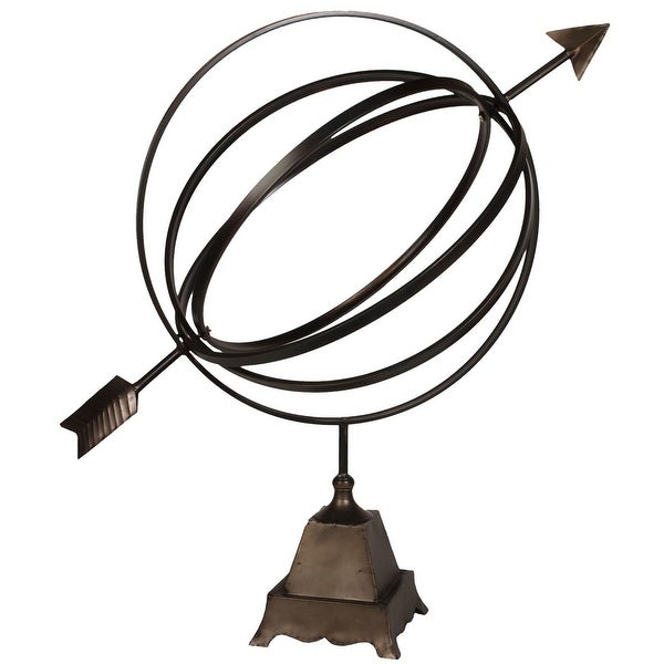 """39"""" Antique Bronze Traditional Armillary Sphere - N/A"""