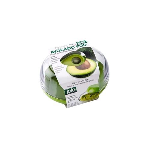Avocado Fresh Flip Pod Saver Container - Guacamole Dip Storage / Serving Dish