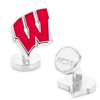 Palladium University of Wisconsin Badgers Cufflinks - Red