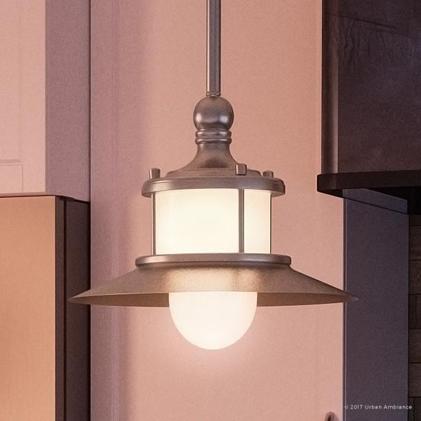 "101 Indoor Nautical Style Lighting Ideas: Shop Luxury Nautical Indoor Hanging Pendant Light, 8""H X 9"