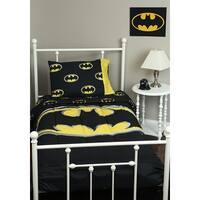 Batman Logo Queen 3pc Comforter Set