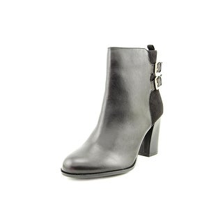 Kenneth Cole Reaction Cross Night   Round Toe Leather  Ankle Boot
