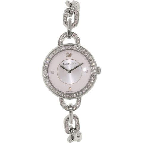 Swarovski Women's 1094376 'Aila' Crystal Stainless Steel Watch