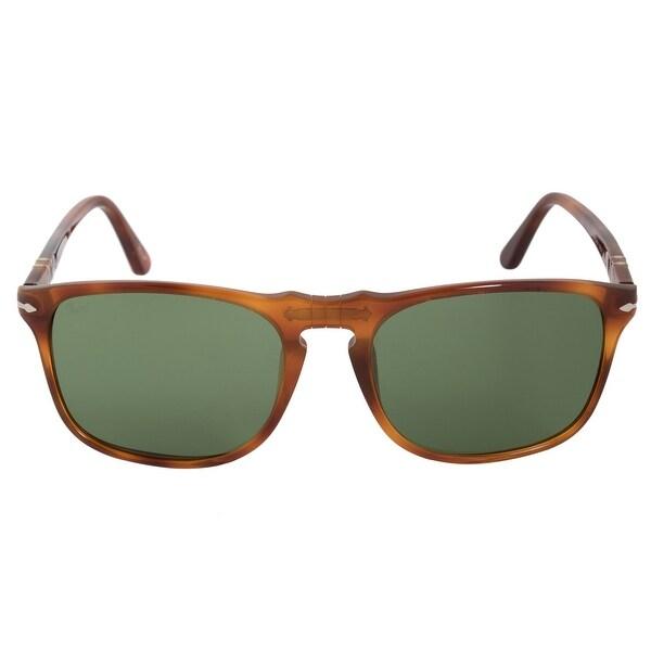 4812a241bf Shop Persol Square Vintage Celebration Sunglasses PO3059S 96 4E 54 ...