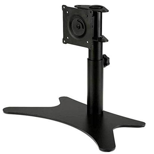 "Doublesight Single Monitor Flex Stand Fully Adjustable Height Tilt Pivot Free Standing, Vesa 75Mm/100Mm, Up To 32"" Monit"