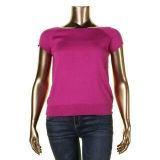 Lauren Ralph Lauren Womens Nosoro Pullover Sweater Silk Knit https://ak1.ostkcdn.com/images/products/is/images/direct/1f811307a4e1dc3c2bf87419b0b36eeb45c1a4b8/Lauren-Ralph-Lauren-Womens-Nosoro-Pullover-Sweater-Knit-Cap-Sleeves.jpg?impolicy=medium