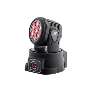 Monoprice Stage Right Stage Wash 7 x 10W LED Moving Head (RGBW)