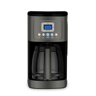 Cuisinart DCC-3200BKS PerfecTemp Coffee Maker, Black Stainless Steel (Refurbished)