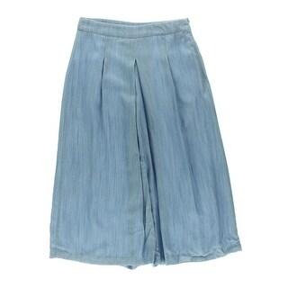 Rachel Rachel Roy Womens Solid Pleated Gaucho Pants - 30
