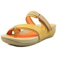 Bare Traps Womens Denni Fabric Open Toe Casual Strappy Sandals