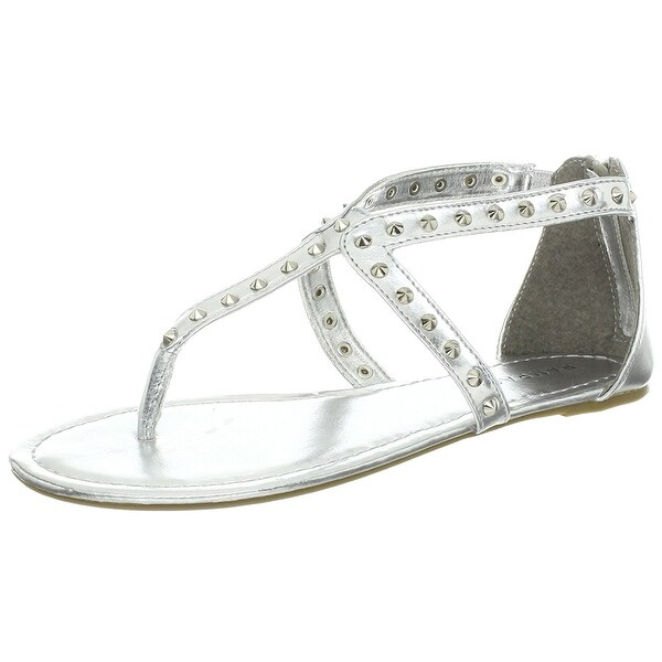 Rampage Womens Padine Split Toe Casual Gladiator Sandals