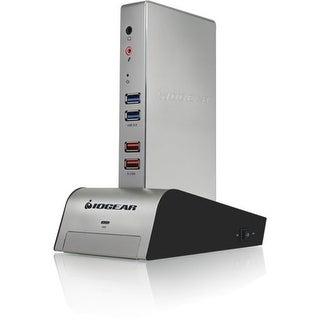 IOGear GUD310 Iogear met(AL) Vault Dock, USB 3.0 Docking Station with built-in Backup Drive Enclosure - for Notebook/Tablet PC -