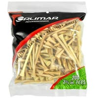 Orlimar 2 1/8-Inch Golf Tees 100-Pack (Natural)
