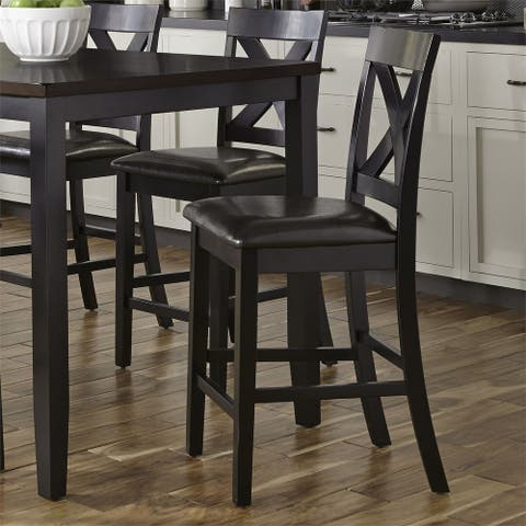 Tanners Creek Console Uph Seat Bar Stool (Set of 3)