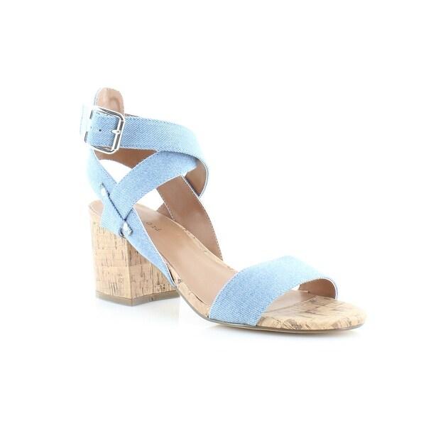 Pink & Pepper Elea Women's Sandals Denim - 7.5