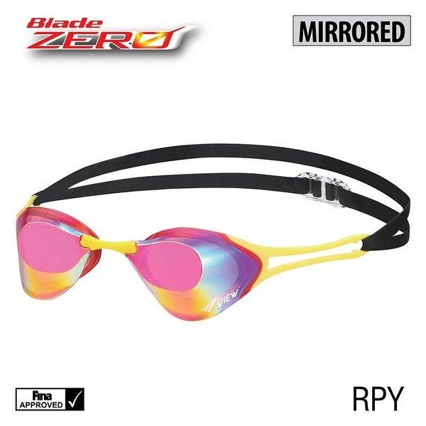 67db530aee5 Shop VIEW Swimming Gear V-127 Blade Zero Mirrored Racing Goggle ...